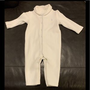 Polo Ralph Lauren baby boy button up coverall